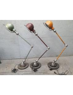 Lampe Jielde deux bras orange